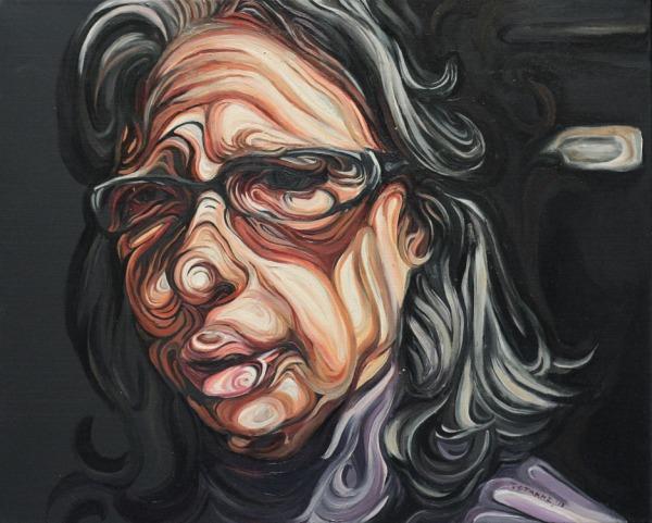 kakia,oil on canvas,40x50cm,