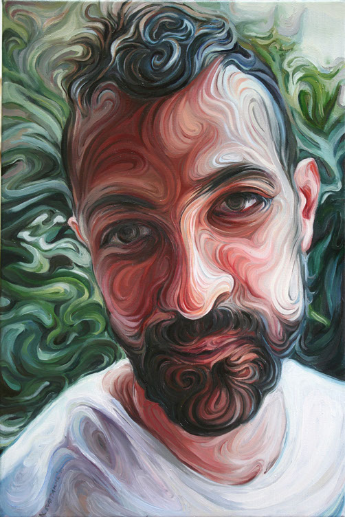 yiannis, oil on canvas, 45x30cm