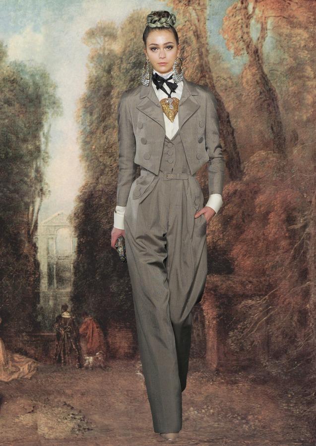 Christian Lacroix Haute Couture X Antoine Watteau