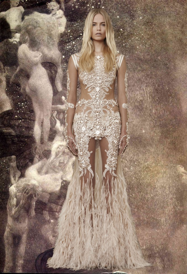 Givenchy Haute Couture X Gustav Klimt