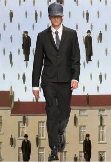 Kris Van Assche X Rene Magritte