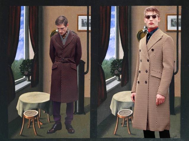 Prada X Rene Magritte