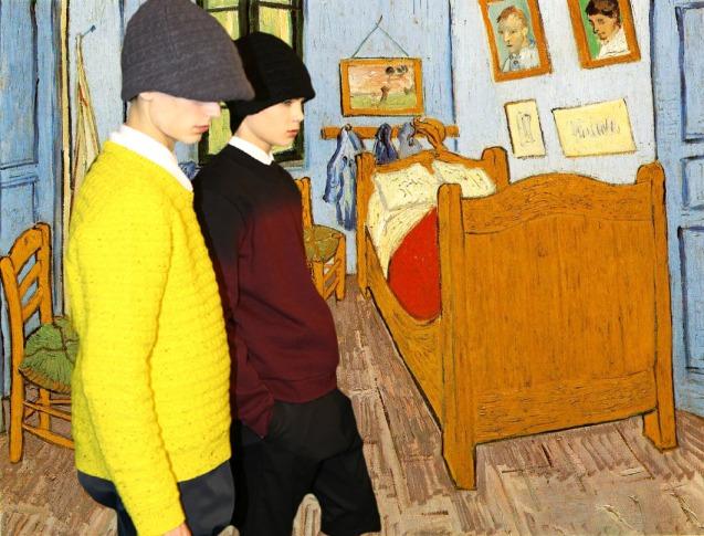 Raf Simons x Vincent Van Gogh
